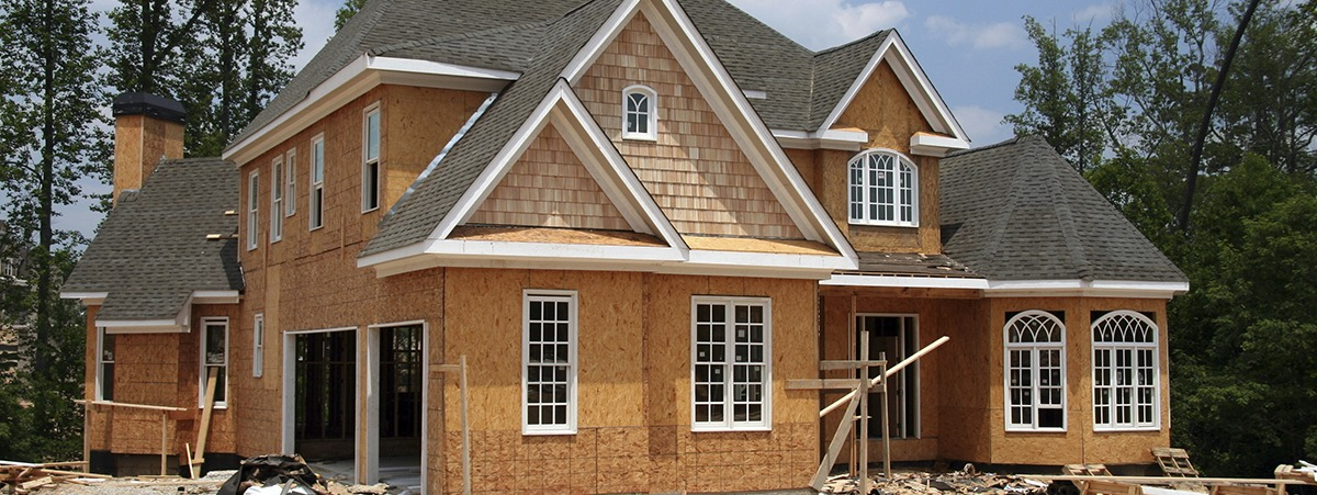 DC's Roofing and Contracting new home under construction